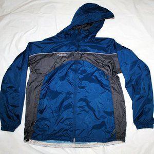 Columbia Mens Zip Pockets Vented Windbreaker Jacke